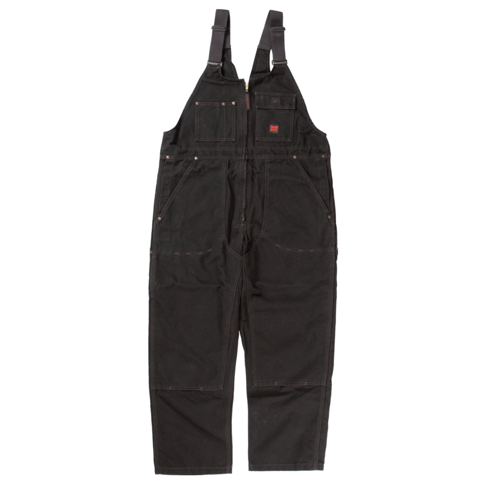 Tough Duck Mens Unlined Overall Dark Brown 7637 Front View