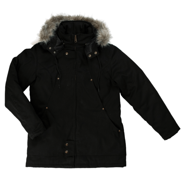 Tough Duck Womens Hydro Parka Front View WJ10